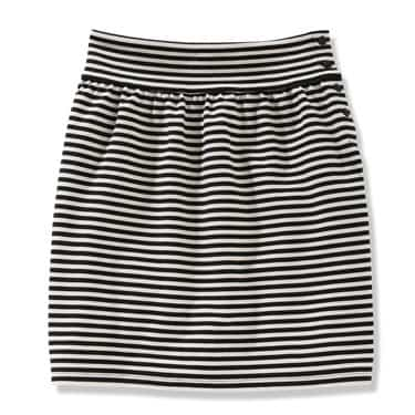 Ponte Stripe Skirt
