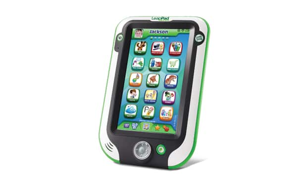 This LeapFrog device is a child-oriented touchscreen toy