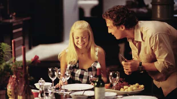 Kate Hudson and Matthew McConaughey in 'How to Lose a Guy in 10 Days'