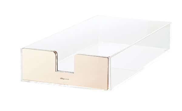kate spade letter tray