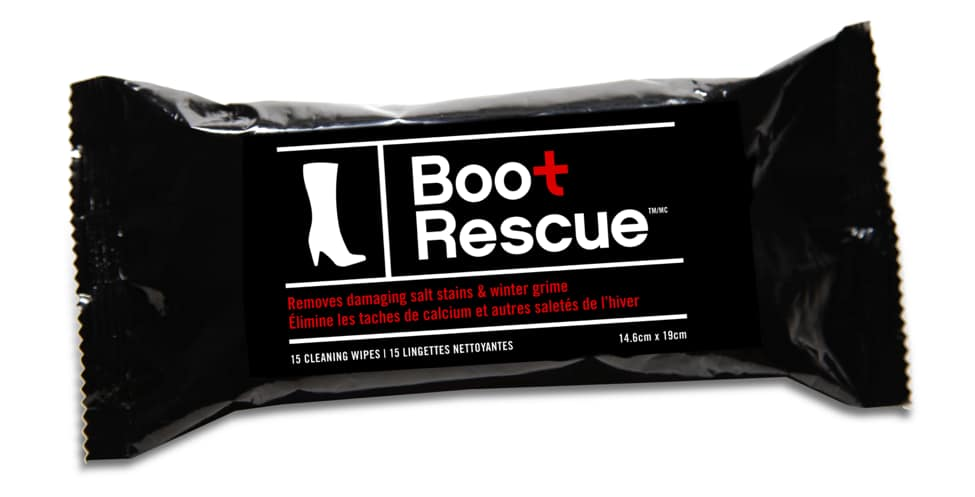 Boot Rescue Wipes, $6.50/pack