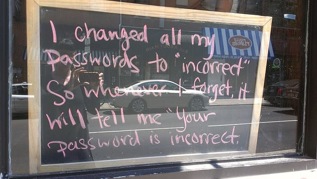 Picture of password policy