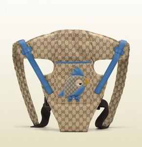 Gucci baby carrier for Kate Middleton baby shower