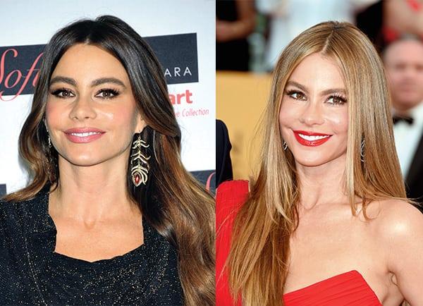 Sofia Vergara hair transformation