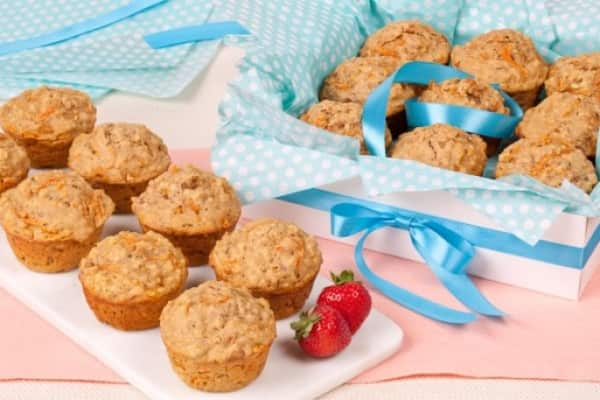 6 last-minute Mother's Day brunch recipes - Carrot Oatmeal Muffins
