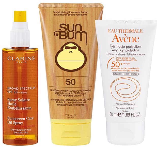 Sunscreens to wear at the beach