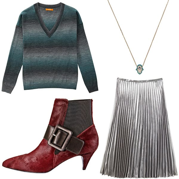 Outfit to wear with fringe bag