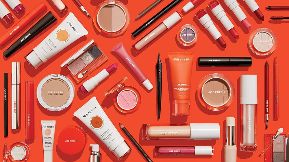 Joe Fresh Beauty has arrived at 850 Shoppers Drug Mart and Pharmaprix stores across Canada with more than 150 new cosmetics products for face, eyes and lips ranging from $8-$18 (CNW Group/Shoppers Drug Mart Corporation)