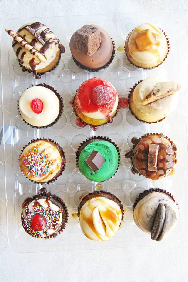 Sullivan cupcakes