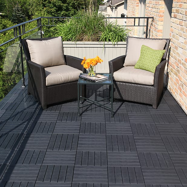 recycled tire tile