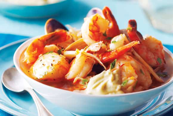 10 things to cook in March - bouillabaisse