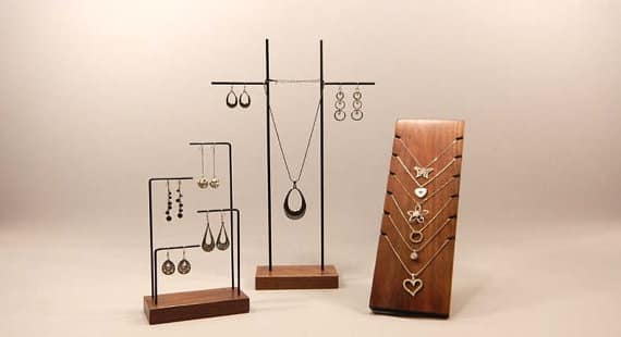 Robinson Merch Company jewelry holders, $48, etsy.com/ca/shop/robinsonmerchcompany