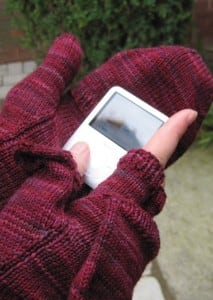Podster gloves – perfect for that cold wait for the morning bus!
