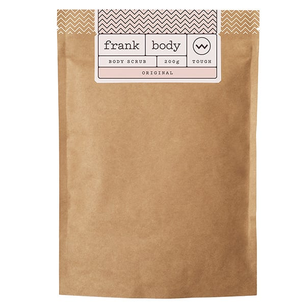 Frank body scrub natural beauty