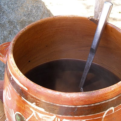 Sip Mexican coffee after a day of snorkling at Las Caletas