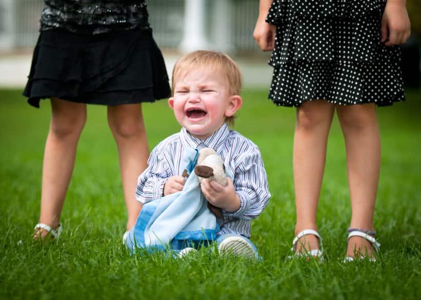 kid tantrum in public