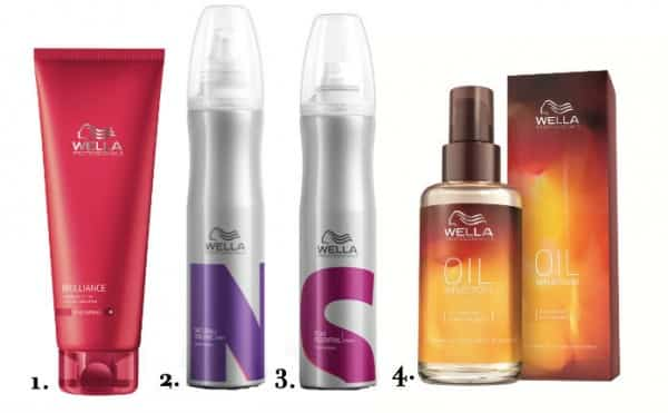 Wella styling products