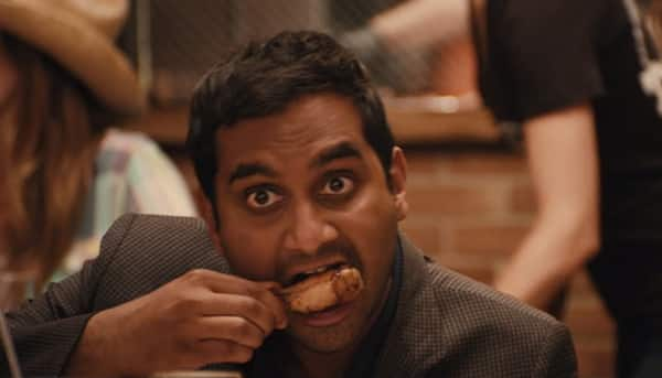 Dev eats wings on Master of None