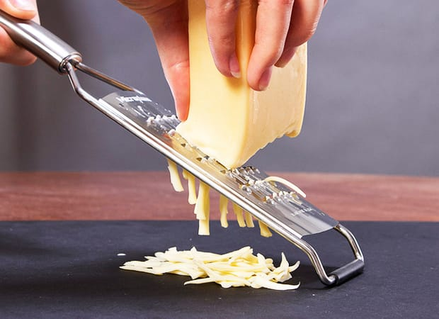 grate cheese