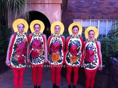russian nesting dolls costume