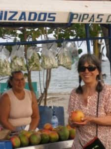 Evelyn Hannon in Costa Rica: Living the dream one journey at a time (Courtesy: Journey Woman)