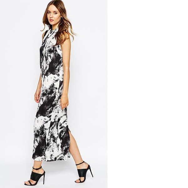Maxi dresses - Black and white Just Female dress
