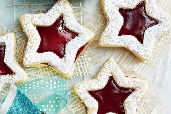 Peekaboo Shortbread Stars