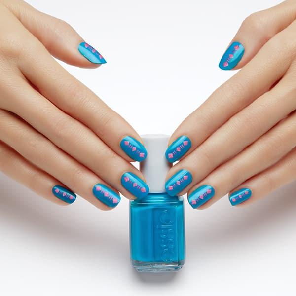 Essie tribal nail art
