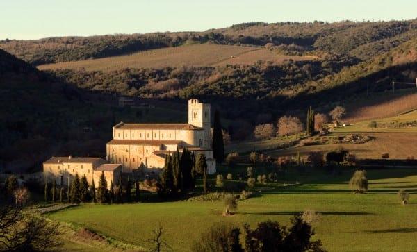 Abbe Sant'Antimo, Tuscay, Italy