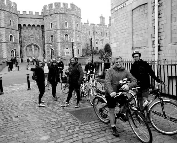 Cycling through Oxford