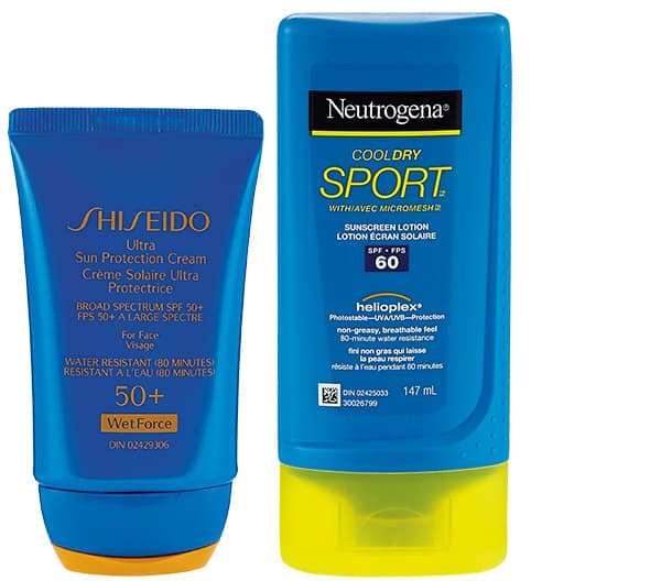 Sunscreens for exercising outdoors