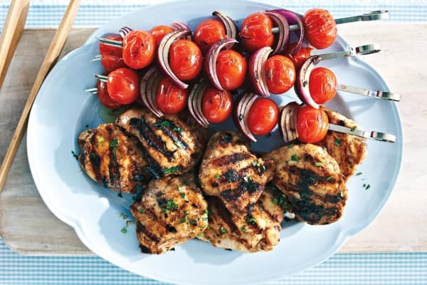 chicken grilled kabobs