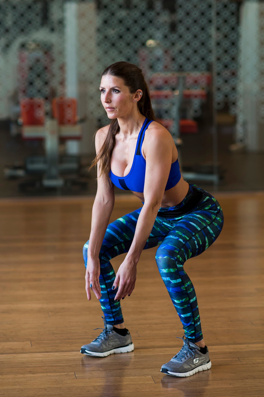 Viking Workout - Squat With Backward Lunge