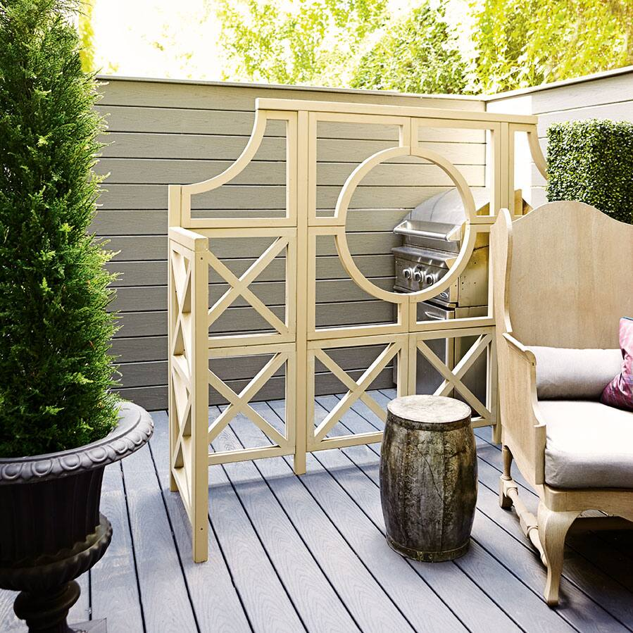 terrace makeover