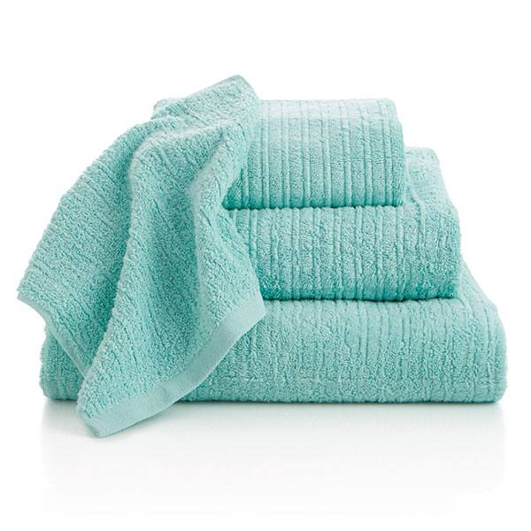 seafoam towels