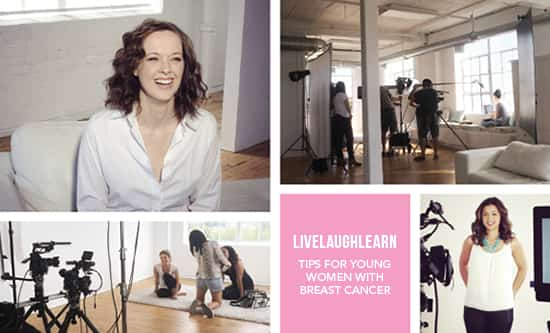 Live Laugh Learn Rethink breast cancer