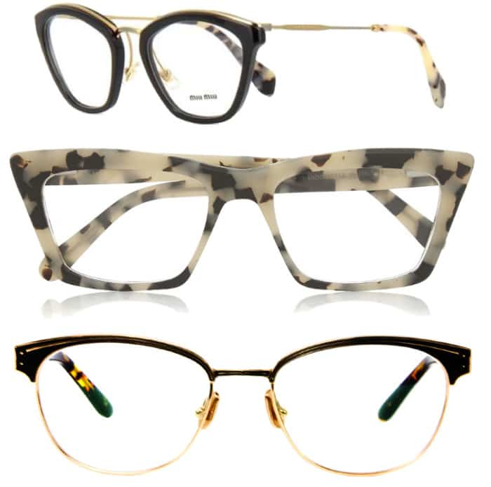 Glasses for oval faces