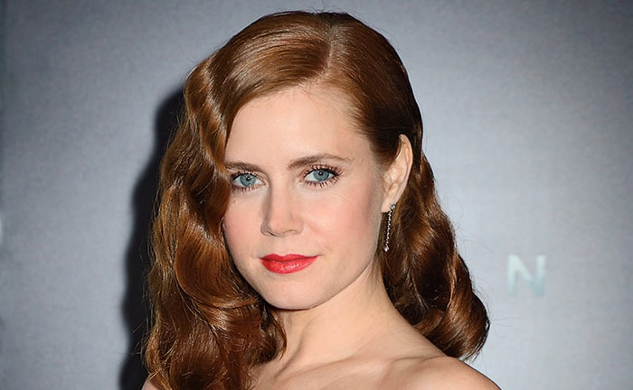 Amy Adams with finger waves