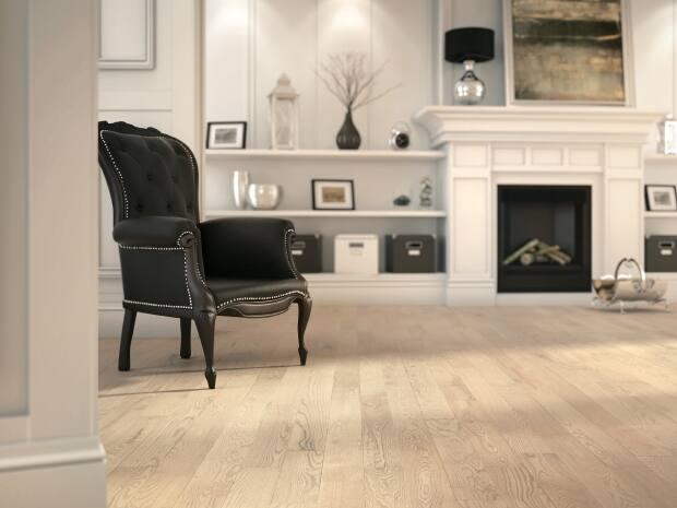 Air-purifying hardwood floor