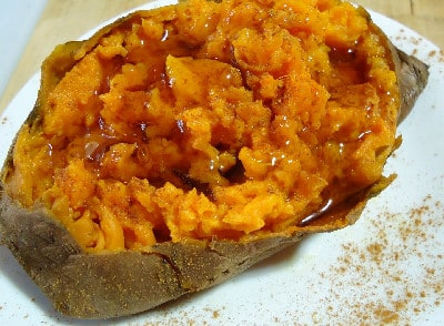 All the flavour of sweet potato pie -- at breakfast.