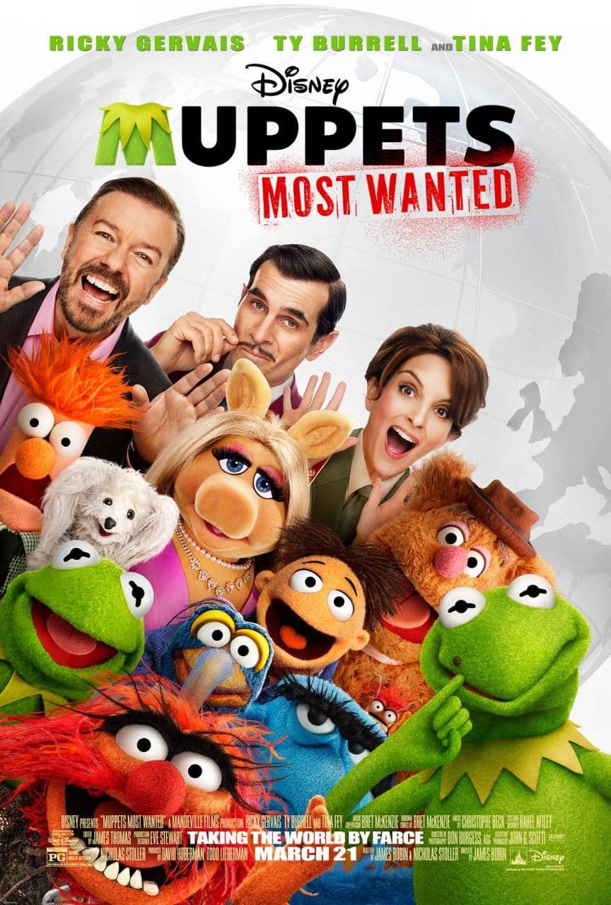 Muppets Most Wanted opens March 21