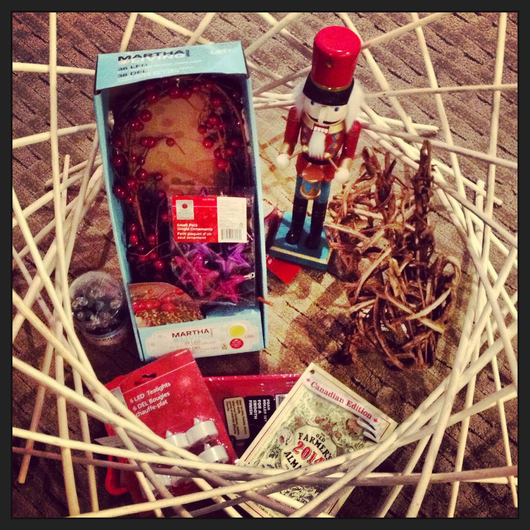 Home Depot Christmas gift package