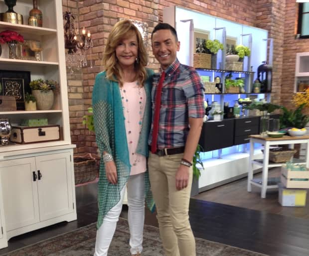 Me and Marilyn. Photography courtesy of CTV's The Marilyn Denis Show.