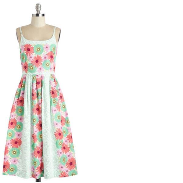 Modcloth plus-size dress - floral