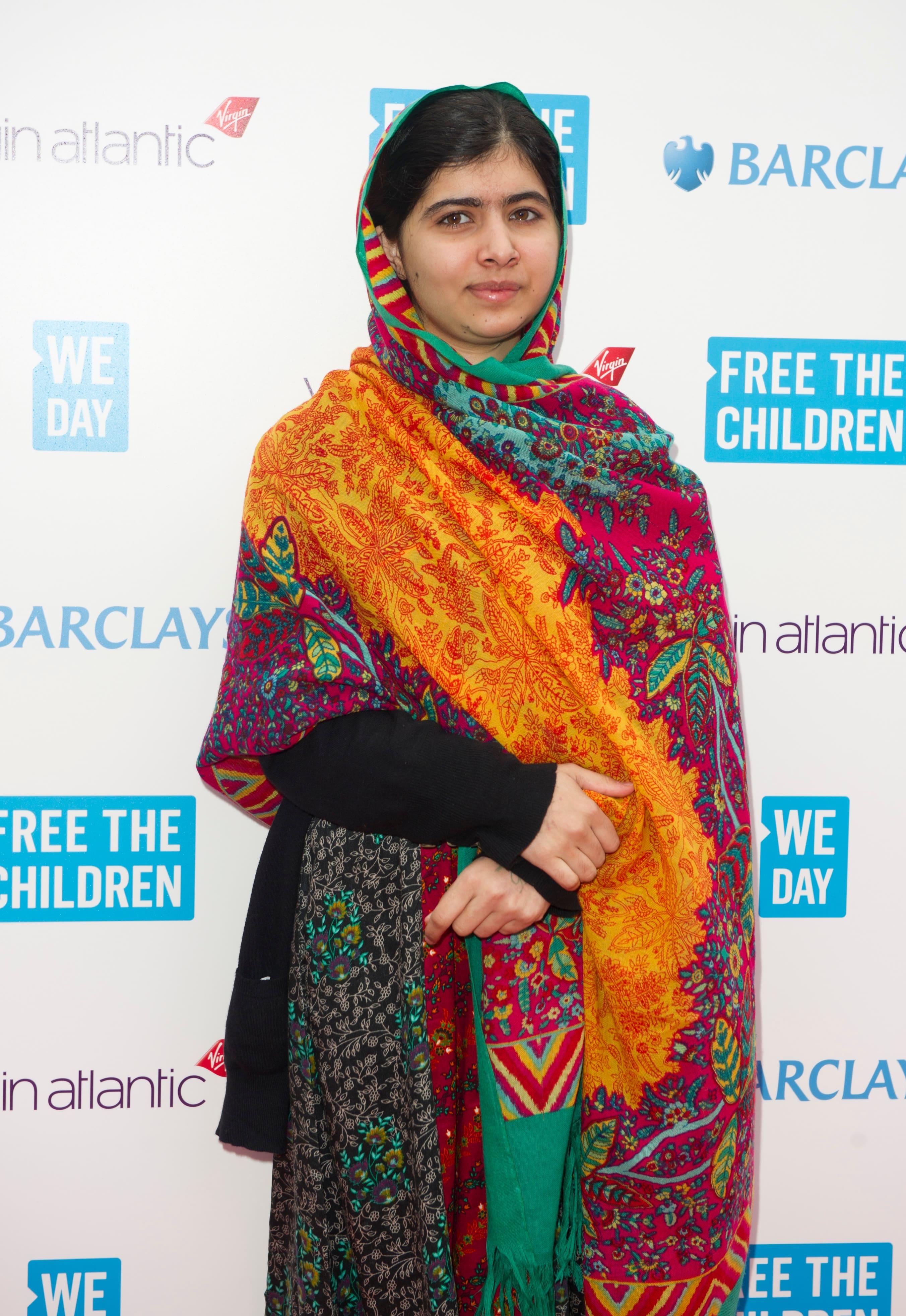 Malala Yousafzai at We Day UK