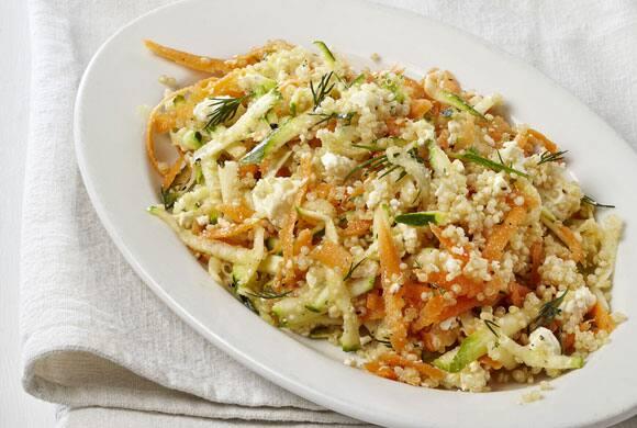 Dill and Feta Quinoa Salad