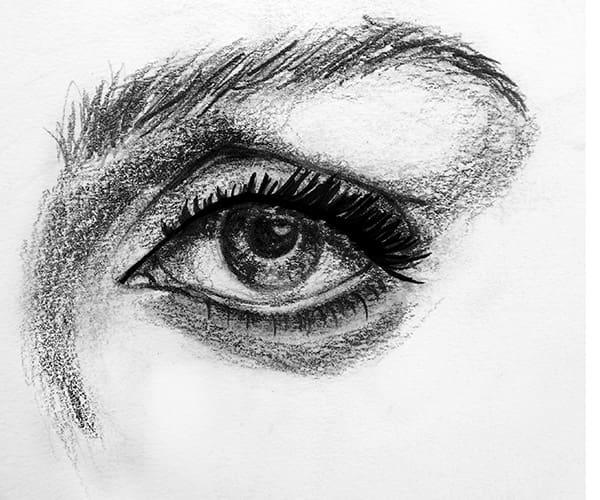 Deep set eyes