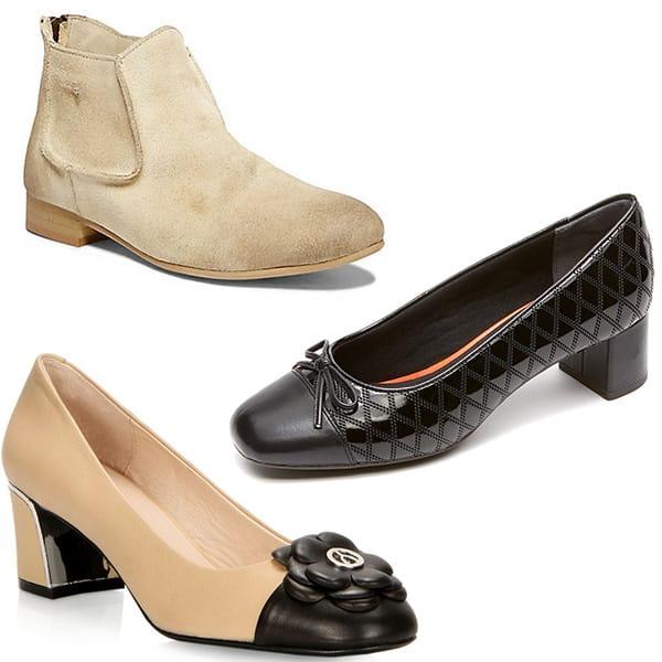 Mod sixties footwear