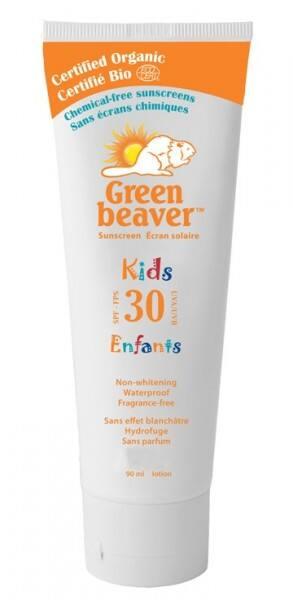 Green Beaver SPF 30 Kids Lotion