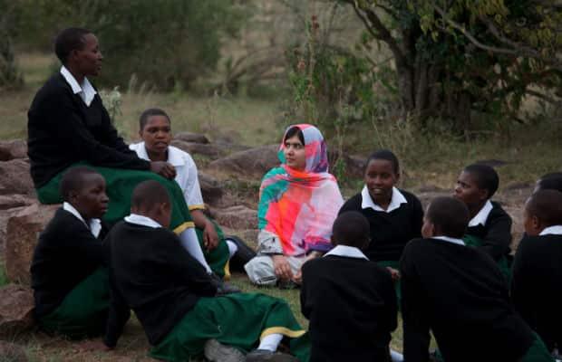 Malala in Kenya